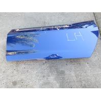 2005 Chevrolet Corvette C6 #1030 Left Driver Side Front Door Shell Blue