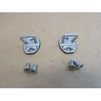 07 Porsche 911 Turbo 997 #1031 Door Lock Latch Striker Set 3C0837033B
