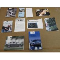 2003 BMW 325i E46 Sedan #1032 Owners Manuals