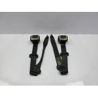 99-04 Land Rover Discovery II 2 #1034 Front Black Seatbelt Retractor Pair Set