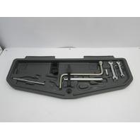 2000 BMW 740il 740i E38 #1035 OEM Tool Kit & Shelf 71111180681