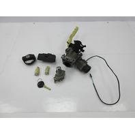 1998 BMW Z3 M Roadster E36 #1037 Ignition Door Glovebox Trunk Cap Lock & Key Set