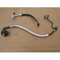 03 BMW M3 E46 #1039 Air Conditioning Compressor Pressure A/C Line Hose Pipe Set