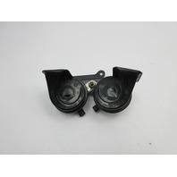 2003 BMW M3 E46 #1040 Dual High Low Tone Horns W/ Bracket 61337833016