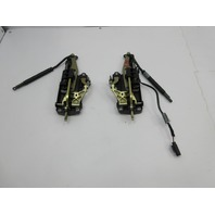 2003 BMW M3 E46 Convertible #1040 Top Front Lock Latch Pair 7031361 7031362