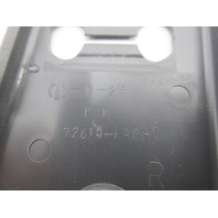 1986-1992 Toyota Supra MK3 #1042 Rear Seat Latch Lock Cover Trim Pair Grey