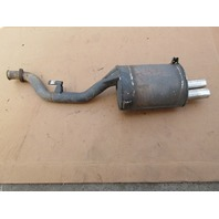 1999 BMW Z3 M Roadster E36 #1043 Driver Left Side S52 Dual Tip Exhaust Muffler