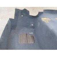 1999 BMW Z3 M Roadster E36 #1043 Main Interior Black Carpet OEM Front Section