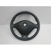 2000 BMW Z3 M Roadster E36 #1044 3-Spoke Leather Steering Wheel & Airbag