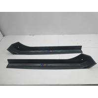 """2000 BMW Z3 M Roadster E36 #1044 OEM Door Sill Set """"M Script"""""""