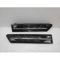 2000 BMW Z3 M Roadster E36 #1044 Hood Grill Gill Set Exterior Pair Black OEM