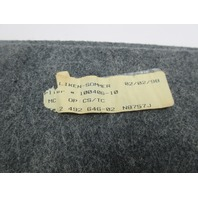1998 BMW Z3 M Roadster E36 #1045 Gray Trunk Lid Carpet Cover Lining 51492492646