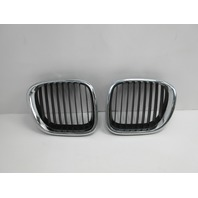 1998 BMW Z3 M Roadster E36 #1045 Left Right Hood Kidney Grill Pair OEM