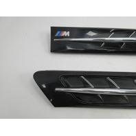 1998 BMW Z3 M Roadster E36 #1045 Hood Grill Gill Set Exterior Pair Black OEM