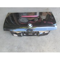 1998 BMW Z3 M Roadster E36 #1045 Trunk Lid Cosmos Black