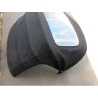 1998 BMW Z3 M Roadster E36 #1045 Convertible Top Soft Roof Black & Frame
