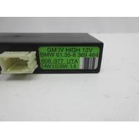 1999 BMW M3 E36 Convertible #1046 General Body Control Module 61358369484
