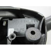 01-06 BMW M3 E46 #1047 Door Panel Armrest Handle Pair Silver Grey Metallic