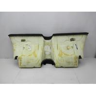 01-06 BMW M3 E46 Convertible #1047 Rear Seat Bottom Cushion Black