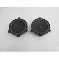 01-06 BMW M3 E46 Convertible #1047 HiFi Rear Speaker Pair 65138378557
