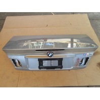 01-06 BMW M3 E46 Convertible #1047 Trunk Lid OEM Silver Grey Metallic