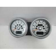 06 Mini Cooper S R50 R52 R53 #1048 Speedometer Tachometer 62116966494