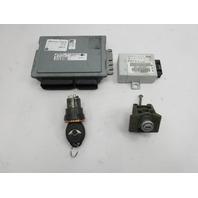 06 Mini Cooper S R50 R52 R53 #1048 Engine Computer EWS Ignition Lock Set