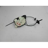 06 Mini Cooper S R50 R52 R53 #1048 Door Lock Latch Assembly Left Driver
