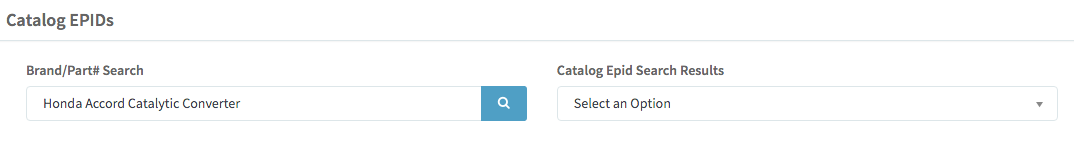 Catalog EPID - Search Results