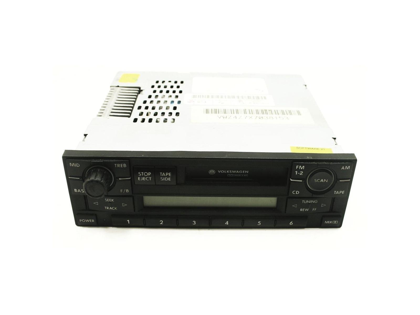 Monsoon Radio Cassette Player VW Jetta Golf MK4 Passat Head Unit Genuine OE