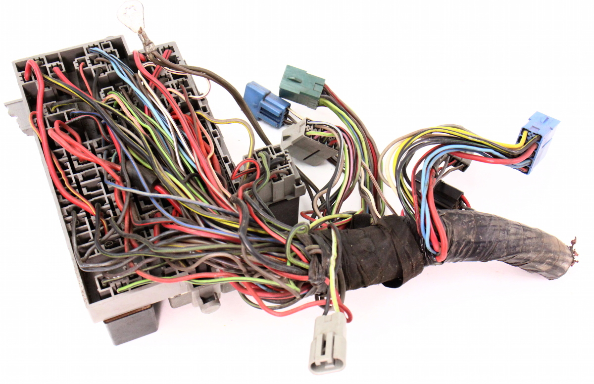 Vw Rabbit Fuse Diagram Wiring Library 1971 Chevy Box Relay Panel 81 84 Jetta Gti Pickup Mk1