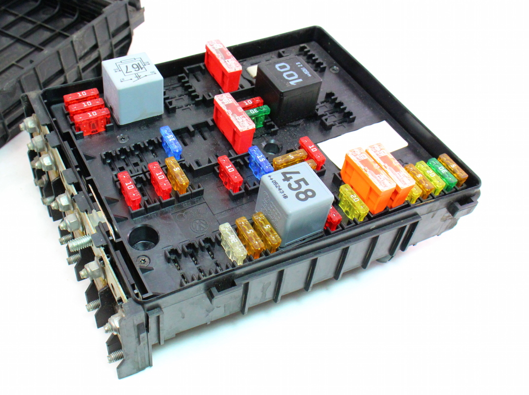 Fuse Relay Box 14 Wiring Diagram Images Diagrams 2007 Chevrolet Equinox Engine Compartment Block And Cp041858 Bay 06 08 Vw Passat B6 20t Genuine 1k0 937 124
