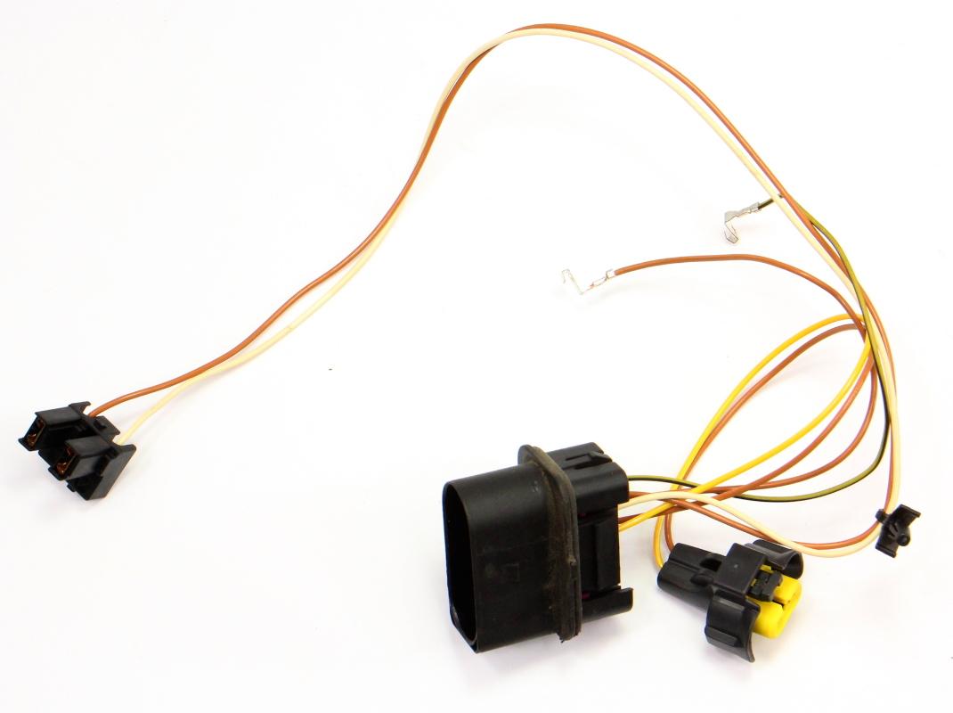 Head Light Lamp Internal Wiring Harness 06-13 Audi A3 8P - Halogen on