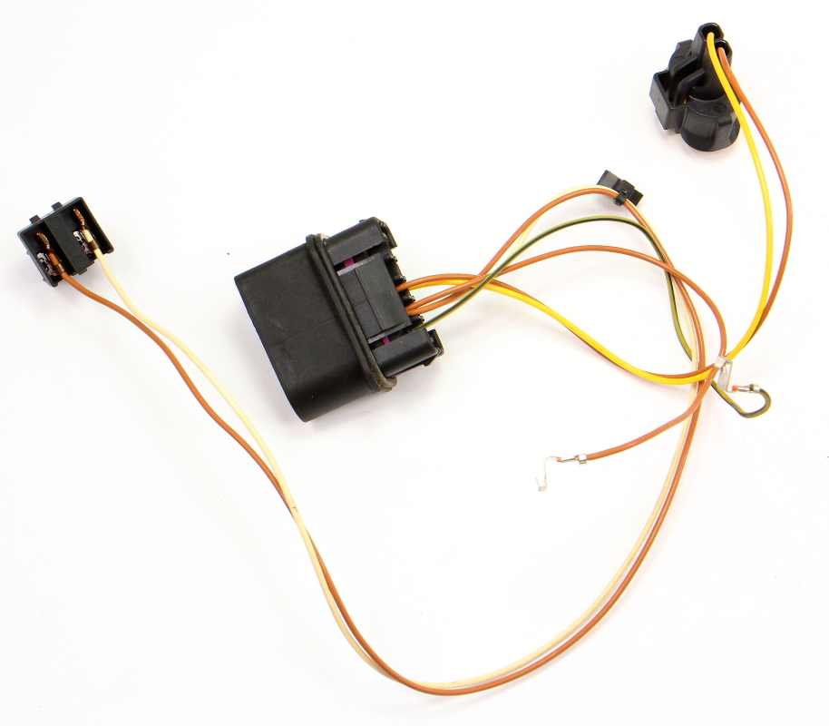 Head Light Lamp Internal Wiring Harness 06-13 Audi A3 8P - Halogen on wire cap, wire lamp, wire ball, wire leads, wire antenna, wire sleeve, wire holder, wire connector, wire nut, wire clothing,
