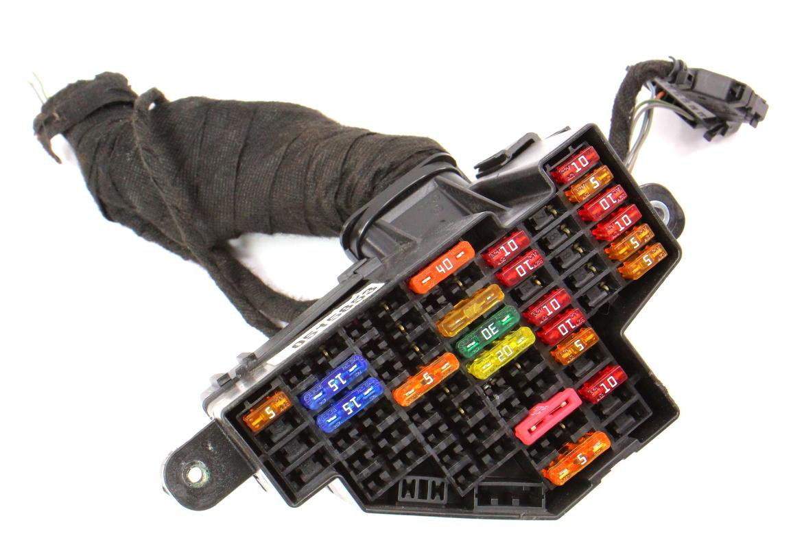 audi a 3 fuse box side dash fuse panel box 06 08 audi a3 2 0t fsi 8p genuine  side dash fuse panel box 06 08 audi a3