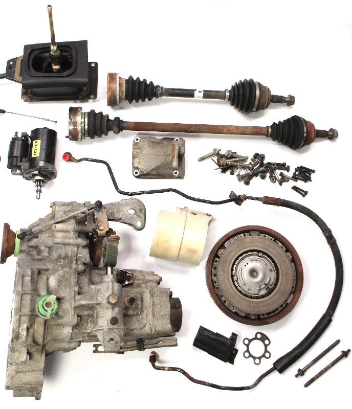 Manual Transmission Swap Parts Kit Vw Jetta Gti Cabrio Mk3 5 Speed 2 0 Aba Amc