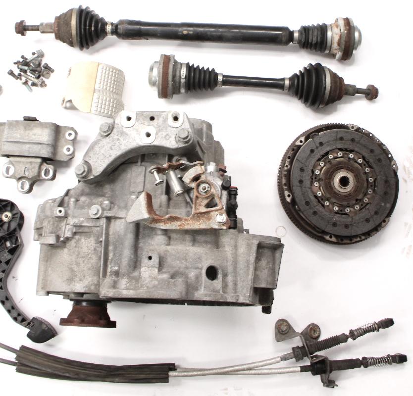6 Speed Manual Transmission Swap Kit 05-10 VW Jetta GLI GTI MK5 Audi A3  2 0T GVT
