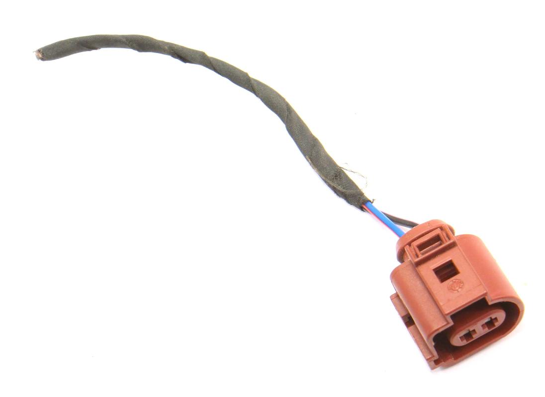 2 pin pigtail wiring harness plug vw audi jetta golf gti mk6 eos 2 pin pigtail wiring harness plug vw audi jetta golf gti mk6 eos 3b0 973 722 a carparts4 inc