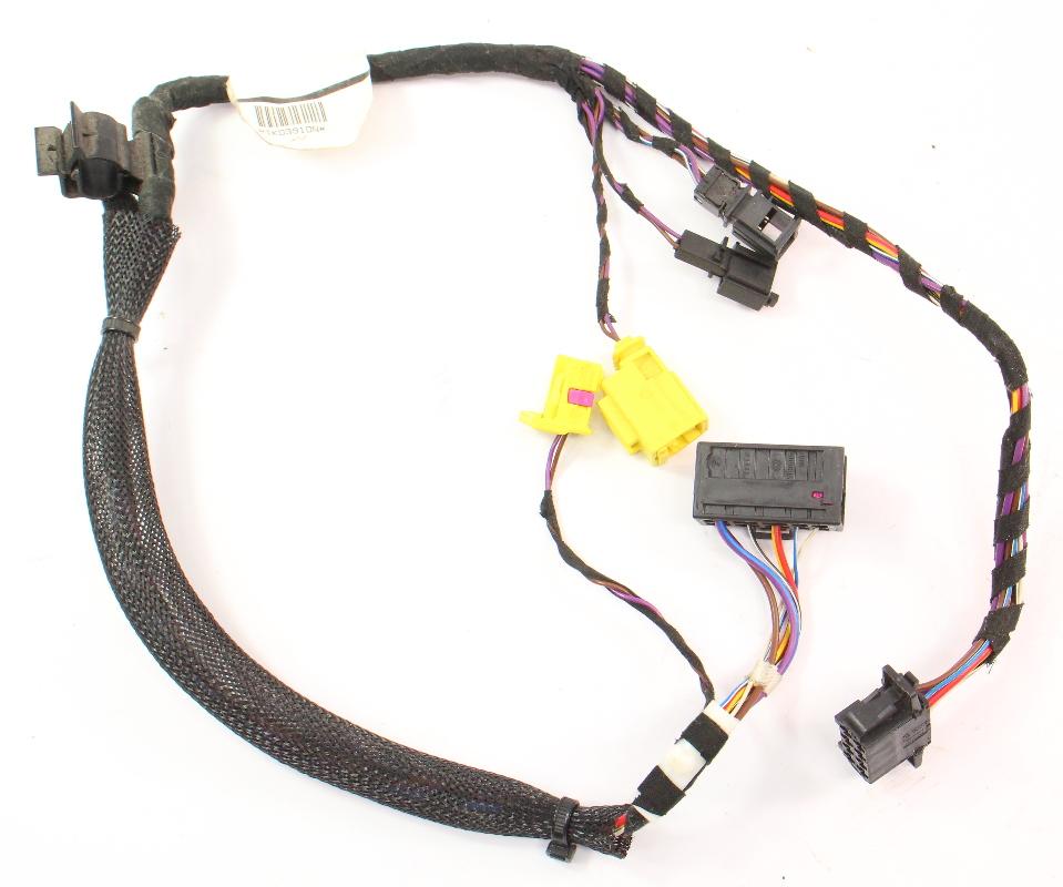 lh front seat wiring harness 06 09 vw rabbit gti mk5 side. Black Bedroom Furniture Sets. Home Design Ideas
