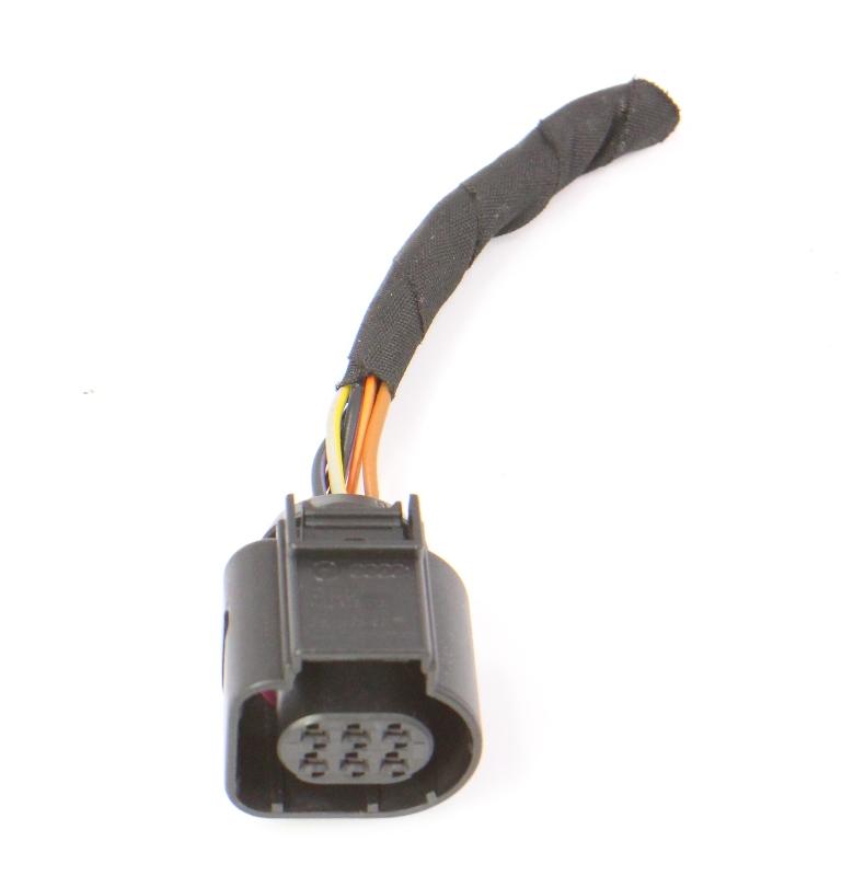 6 pin pigtail wiring harness plug vw audi jetta golf gti. Black Bedroom Furniture Sets. Home Design Ideas