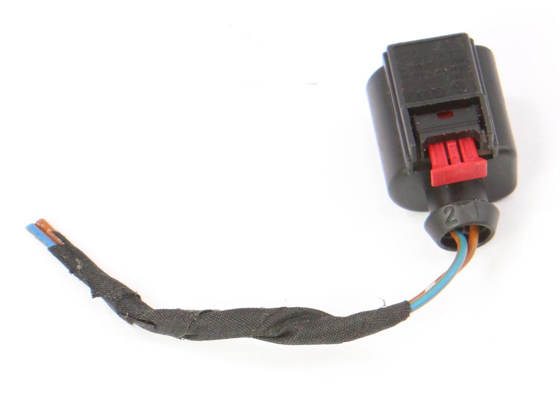 2 pin pigtail wiring harness plug vw audi jetta golf gti. Black Bedroom Furniture Sets. Home Design Ideas