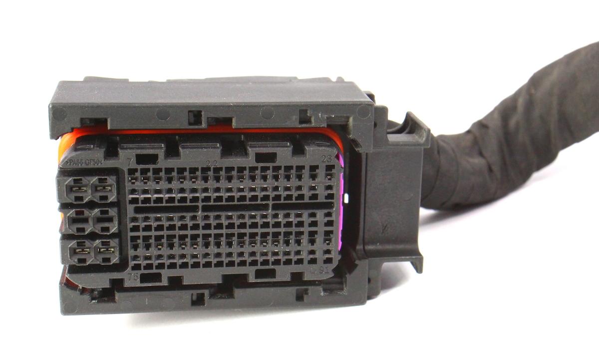 Engine Computer Ecu Wiring Plug Pigtail 15-18 Vw Jetta Mk6 1 8t