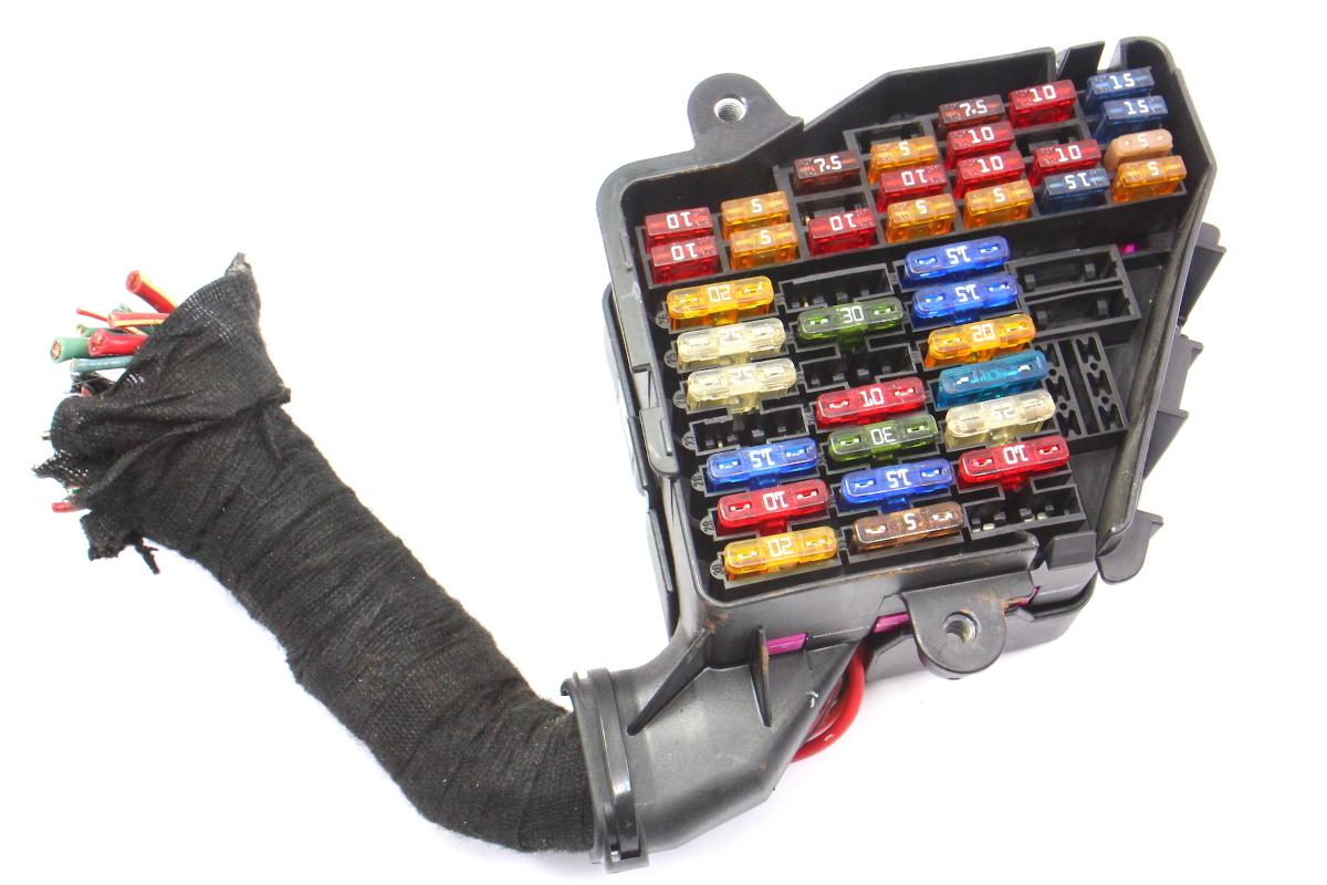 Under Dash Fuse Box Panel  U0026 Pigtail Vw Jetta Golf Beetle