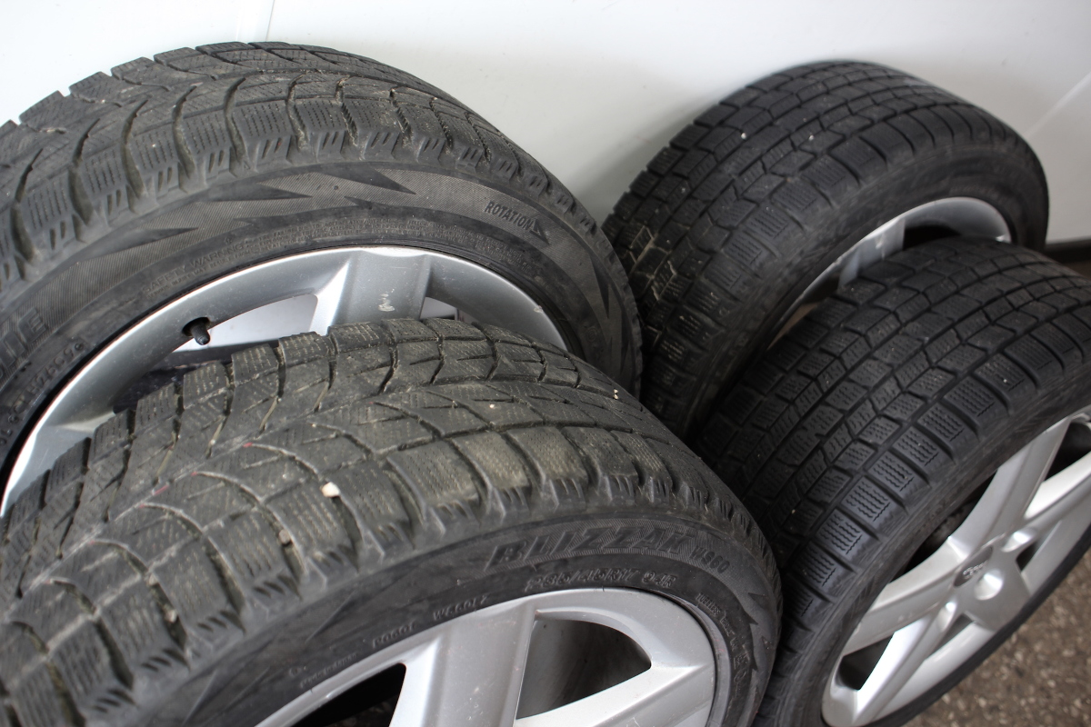Blizzak Snow Tires >> Set Of Stock Wheels Blizzak Snow Winter Tires 5x112 17 Vw Audi A3 A4