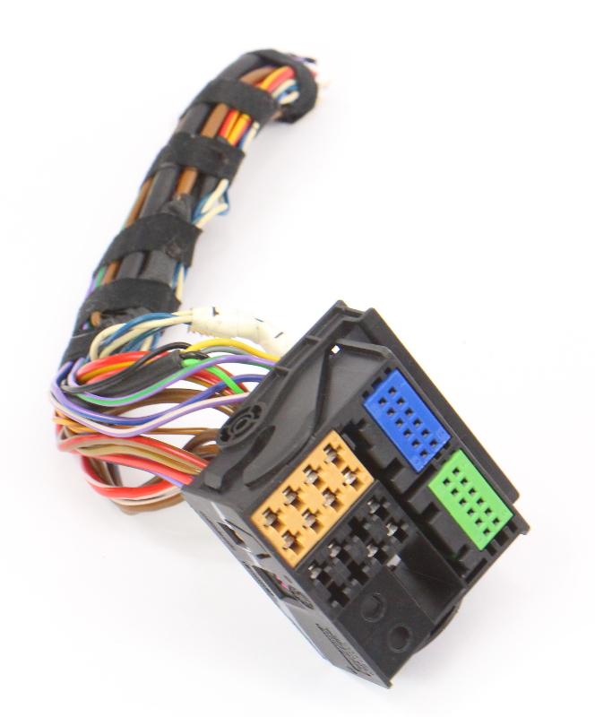 Premium 7 Radio Plug Wiring Pigtails 05-14 VW Jetta Rabbit ...