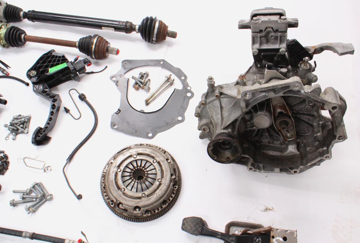 5 Speed Manual Transmission Swap Kit 11-15 VW Jetta S 2 0 MK6 Sedan 67k LDZ