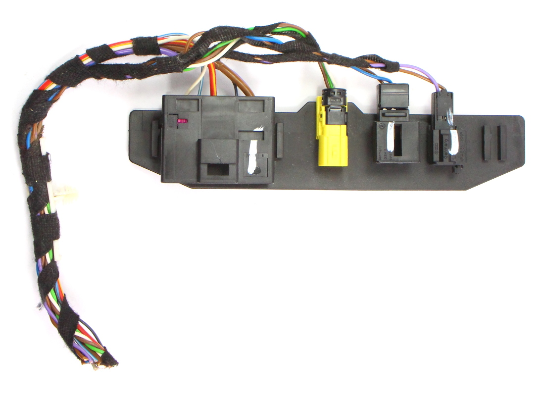LH Heated Seat Wiring Harness Pigtail Plugs 11-14 VW Jetta MK6 Sedan on electrical conduit, power cable, ground and neutral, plug switch, plug paint, plug gages, electric power distribution, power cord, three-phase electric power, plug connectors, knob-and-tube wiring, earthing system, national electrical code, plug outlets, plug safety, plug wires blue green brown, distribution board, extension cord, electric power transmission, plug dimensions, plug welding, plug sockets, junction box, alternating current, plug computer, plug doors, electrical engineering, electric motor, wiring diagram, plug valves, plug fans, circuit breaker, plug fuses, plug parts, plug electrical,