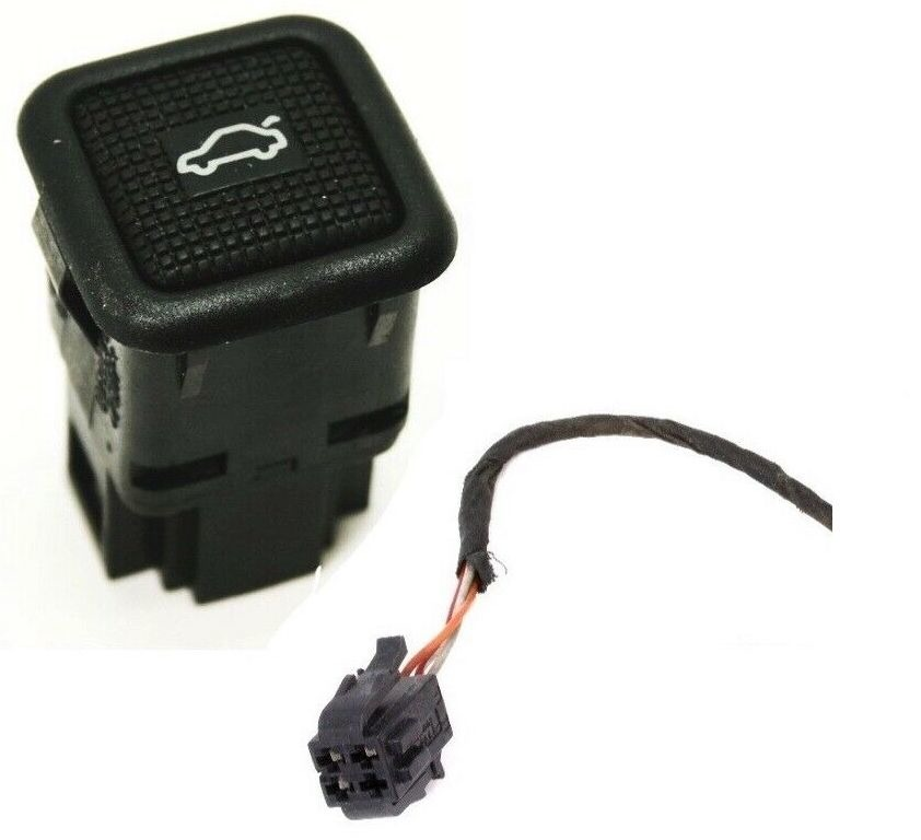 Trunk Release Switch Button  U0026 Plug Wiring Pigtail 93-99 Vw Jetta Golf Gti Mk3