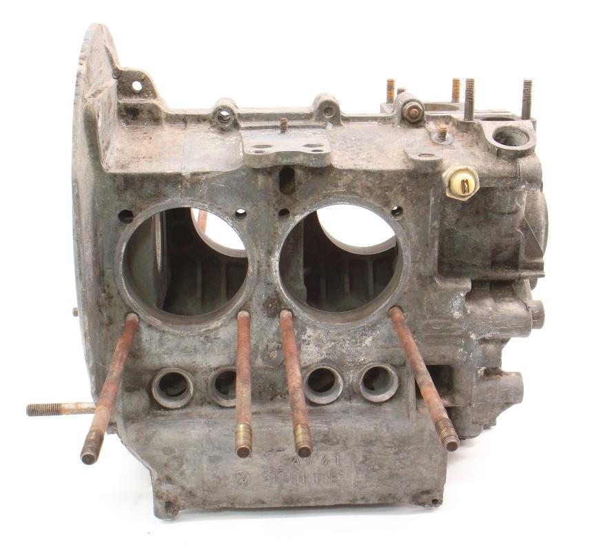 vw engine port beetle dual case 1973 aircooled block 1600cc bug a541 genuine