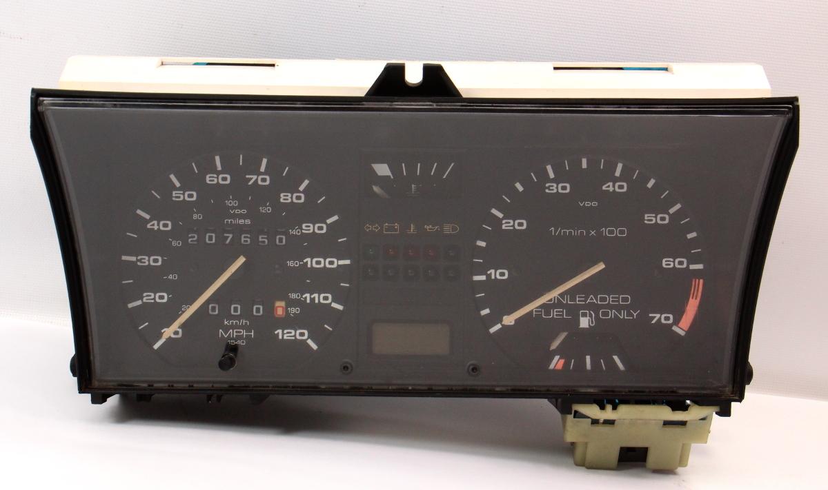 Gauge Cluster Speedometer Tach 89-92 VW Jetta Golf MK2 8v Gas CE2 191 919 035 FP